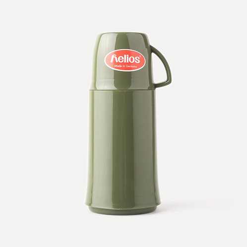 Helios Portable Water Flask - 250ml Olive Green