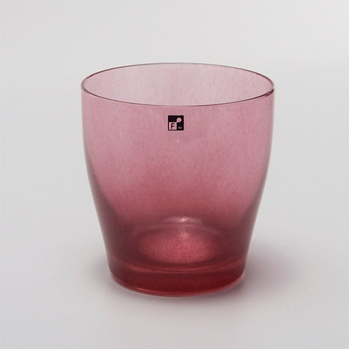 fresco solito glass cup red series
