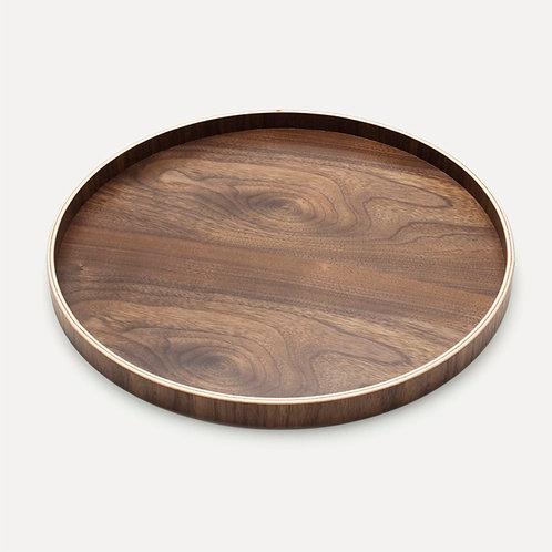 yamanaka wooden circular lacquer tray