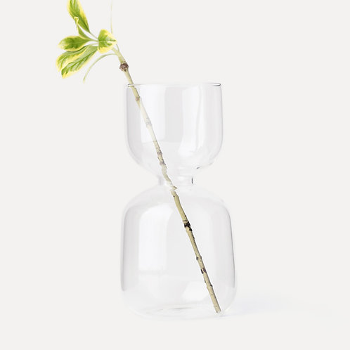 Homestead Clear Glass Vase (Valve)