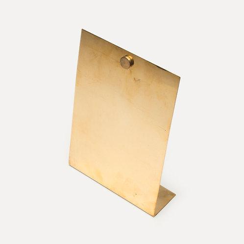 horn please handmade bronze photo stand