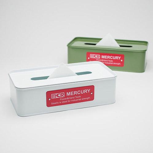 keystone metallic tissue box