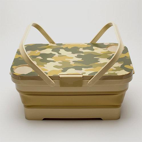 Isetou Plastic Multipurpose Picnic Basket
