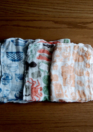 奈良蚊帐花巾