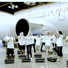 Air Canada's ALS Ice Bucket Challenge