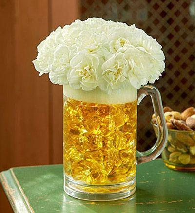 Beer Mug o' Blooms