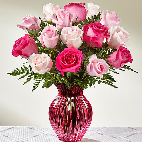 FTD® Happy Spring™ Mixed Rose Bouquet