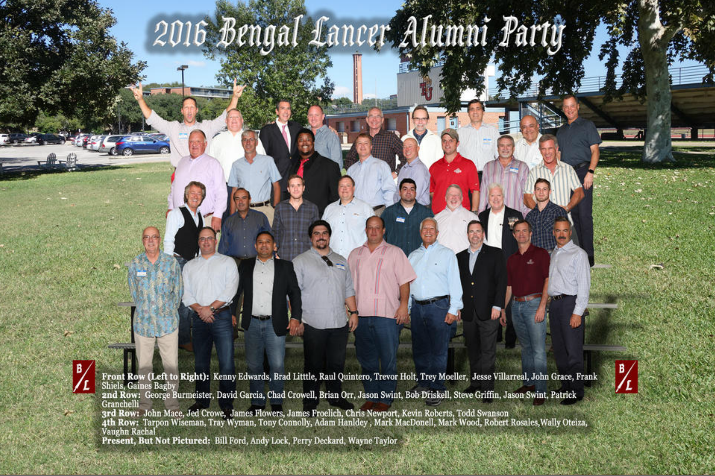 2016 BL ALumni Party