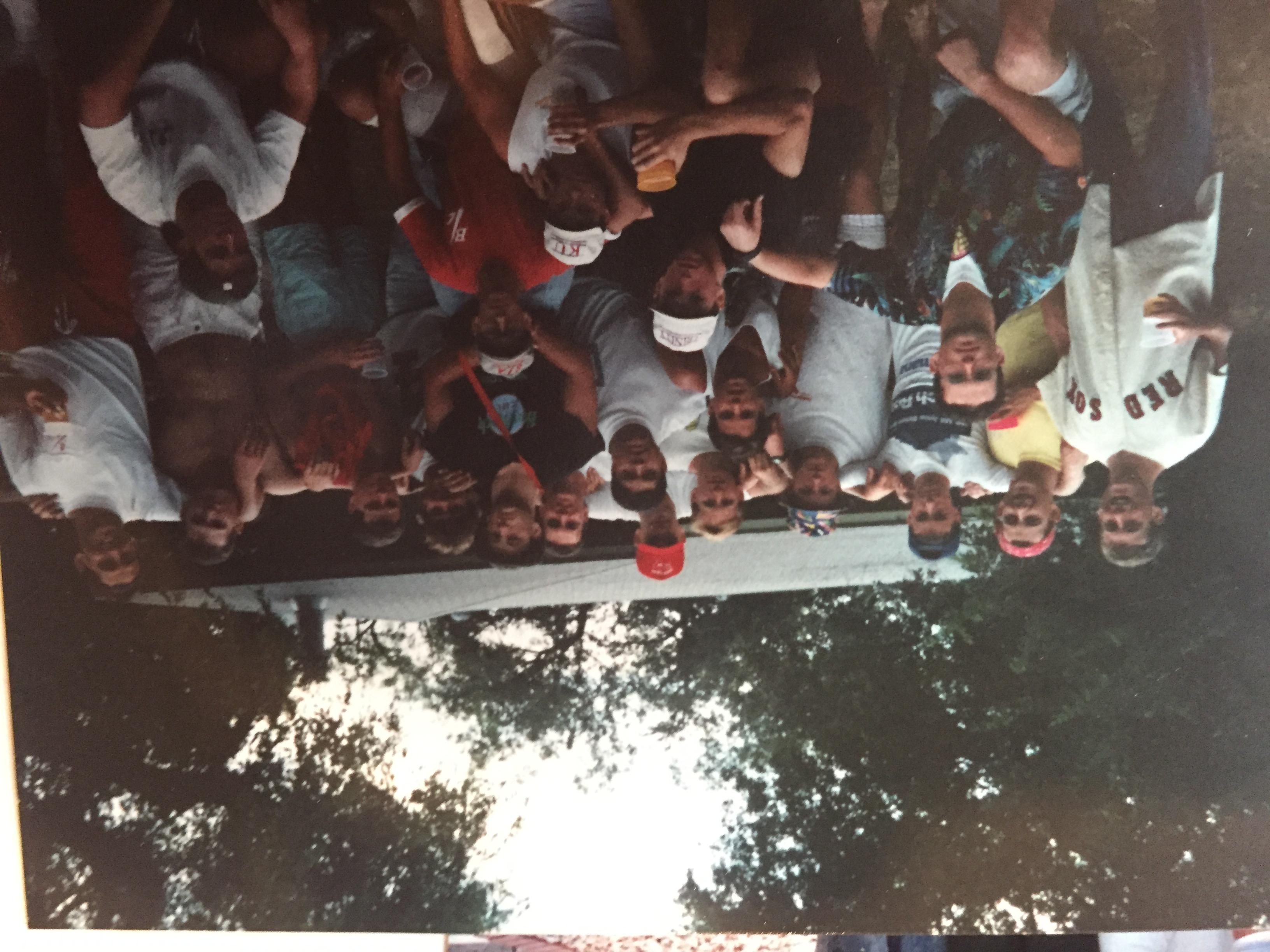 Outside the Lancer House 91-92