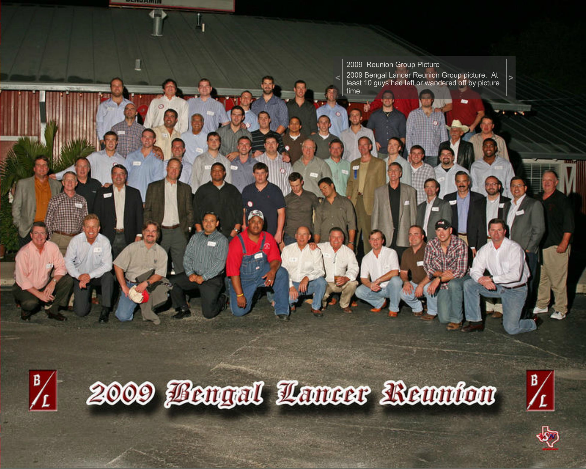 2009 BL Alumni Party