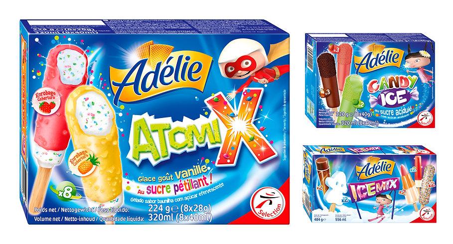 Packaging | Adélie gamme kids