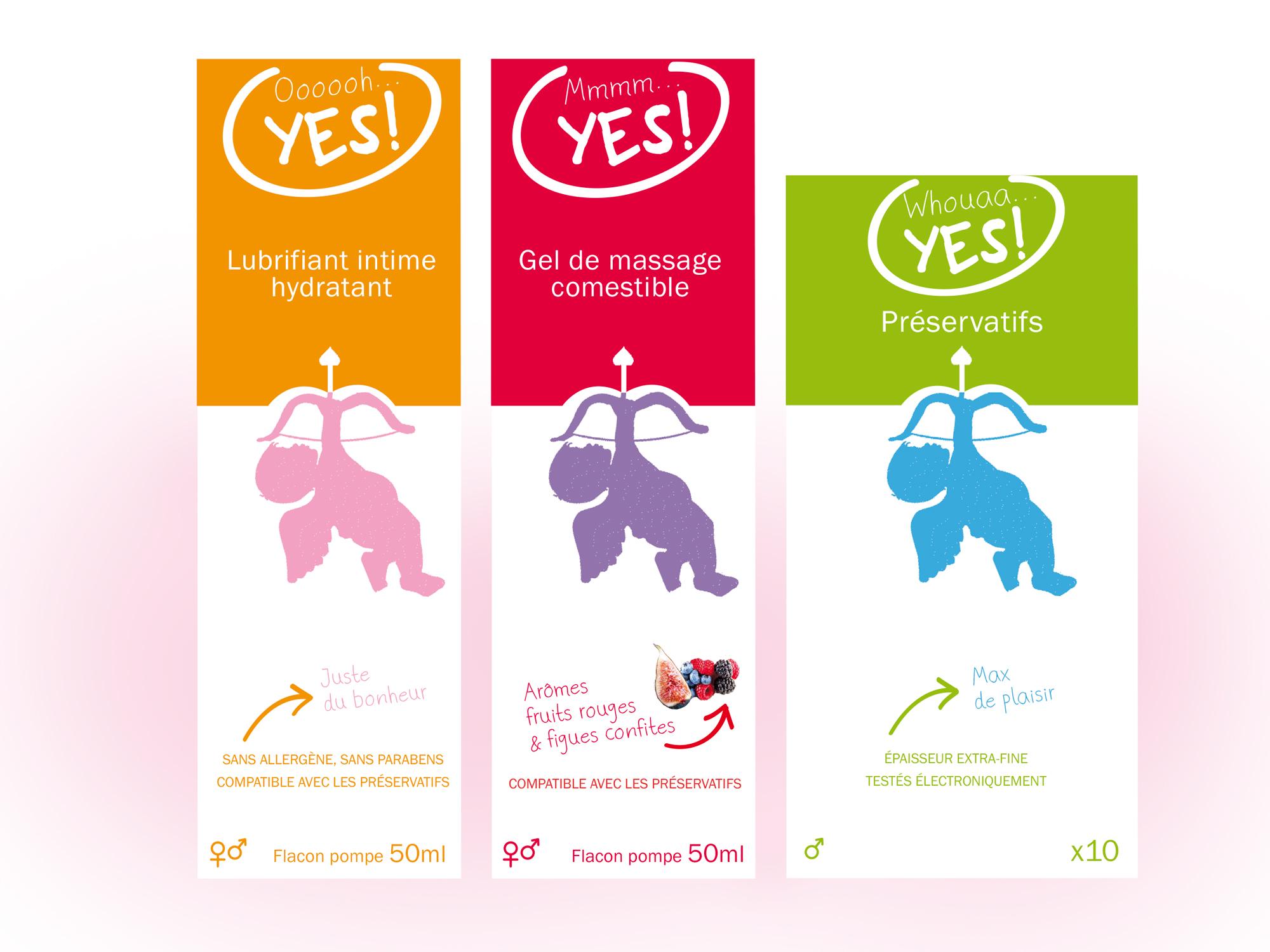 Identité & Packaging | YesForLove