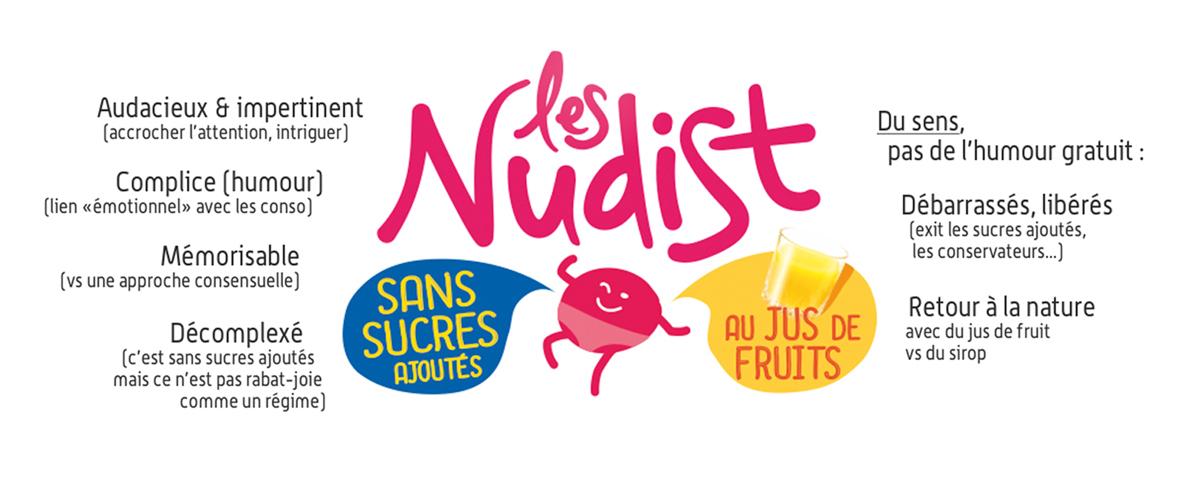 Identité & Packaging | Les Nudist