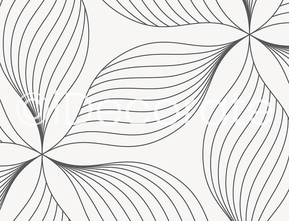 Line Of Leaf Wallpaper