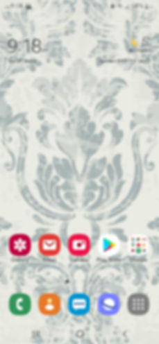 Mobile phone screenshot of Imperial Rococo wallpaper