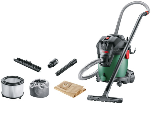 Dust-free vacuum sanding