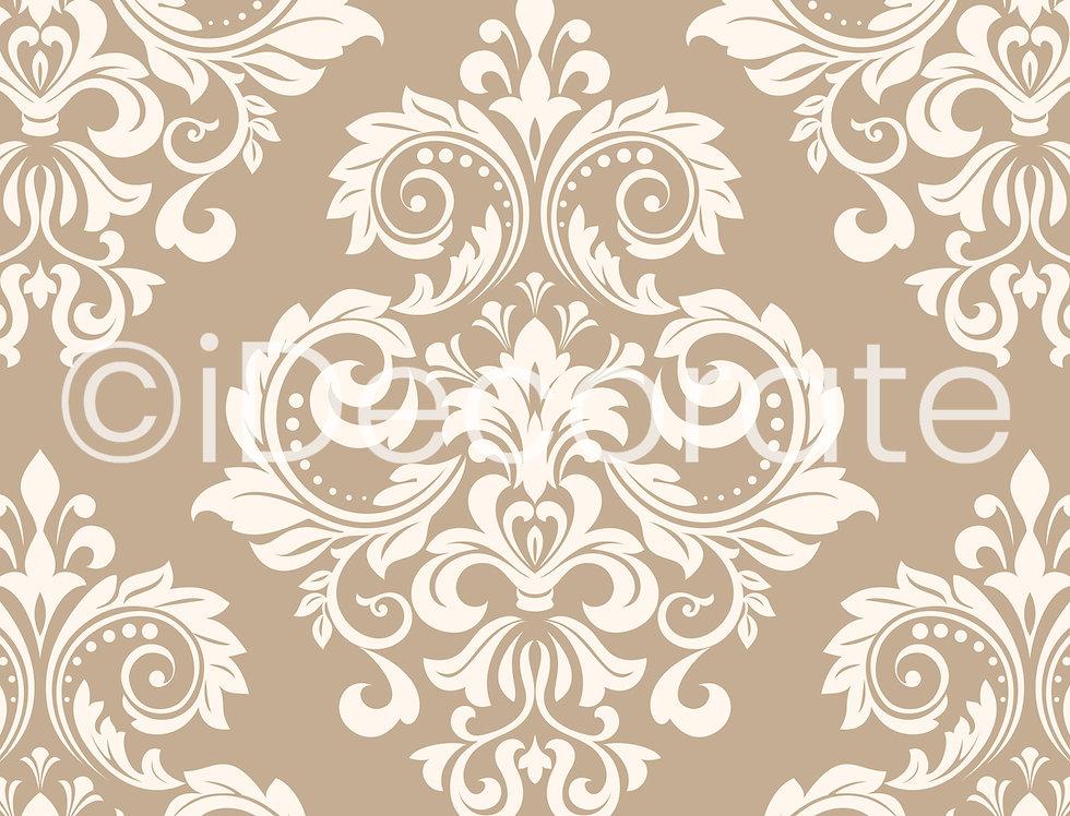 Baroque Ornate Wallpaper