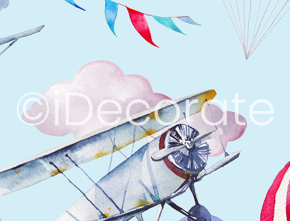 Flying Airplanes Wallpaper