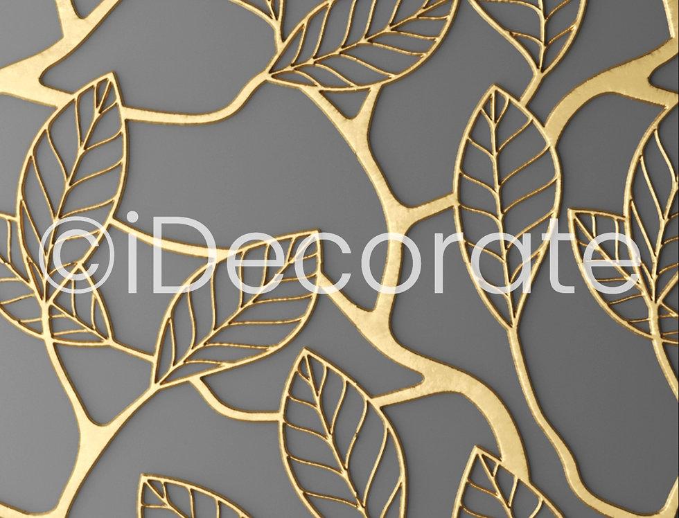 Gold Lattice Wallpaper