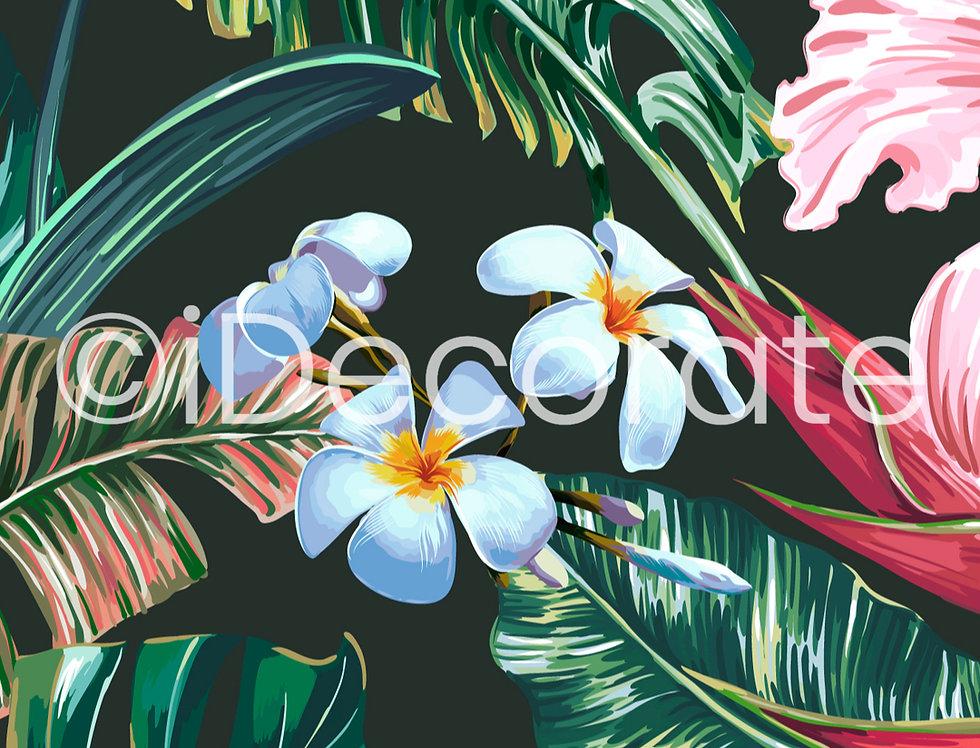 Exotic Botanical Wallpaper