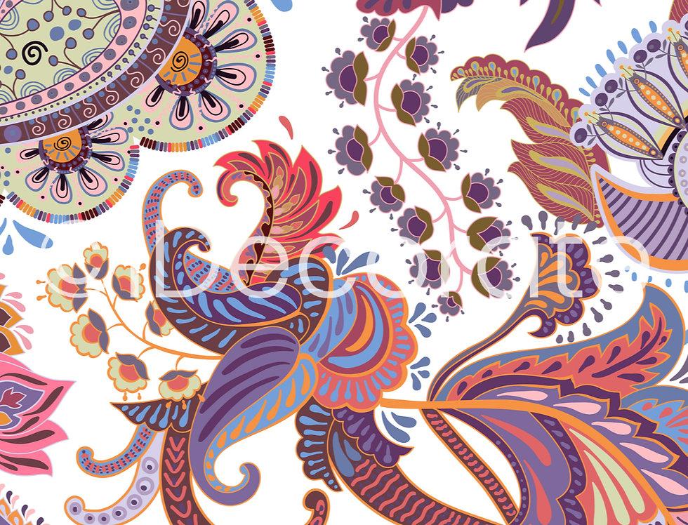 Indian Batik Wallpaper