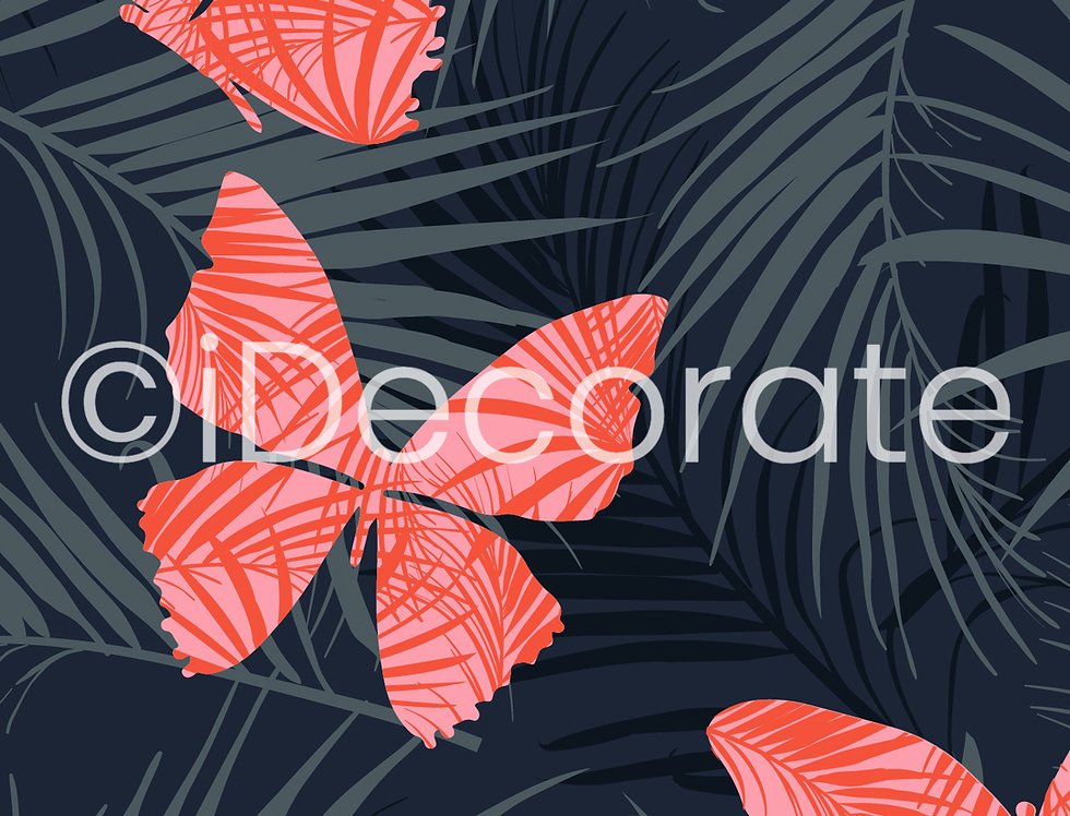Tropical Butterfly Wallpaper