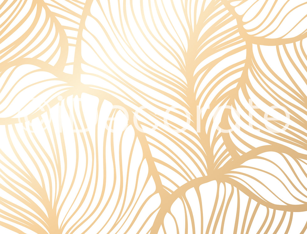 Gold Leaf Wallpaper