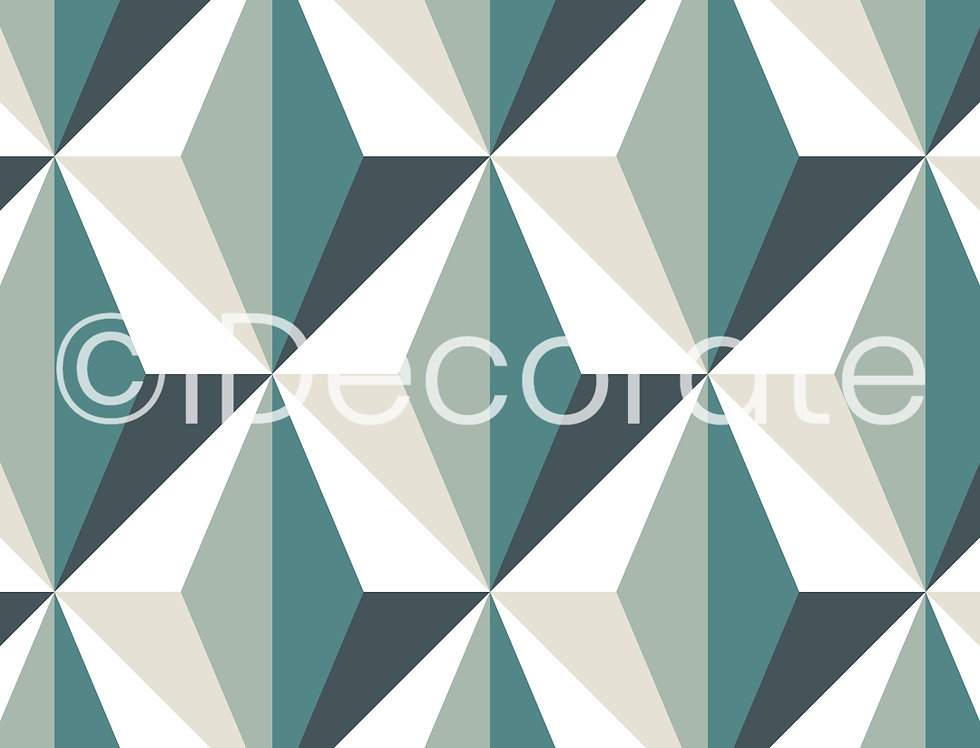 Contemporary Motif Wallpaper