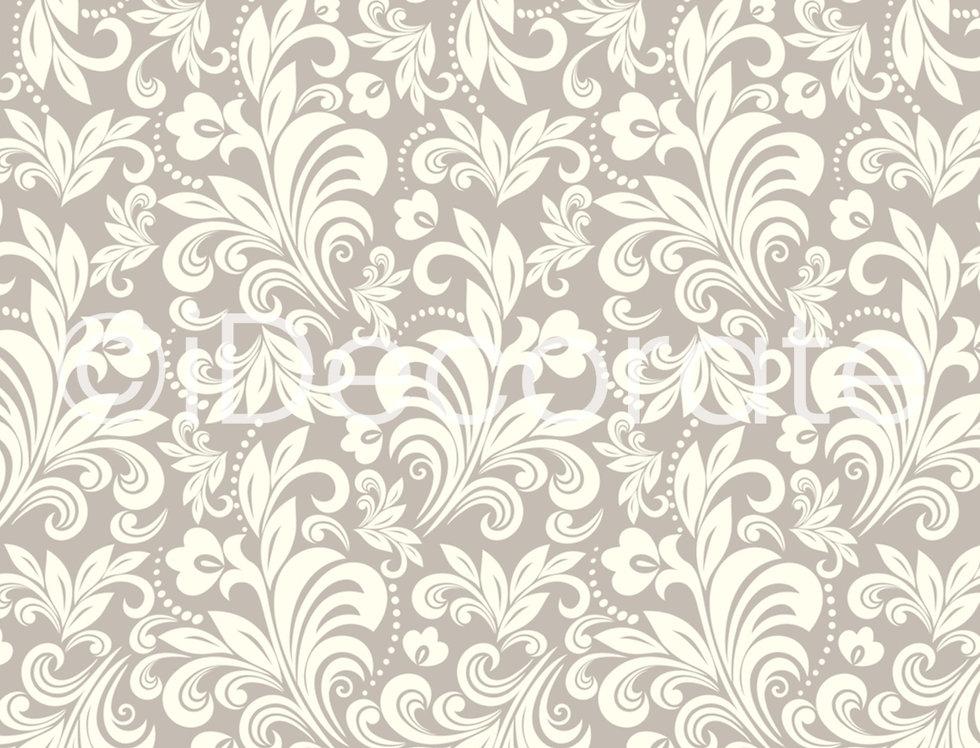 Light Floral Patterned Wallpaper