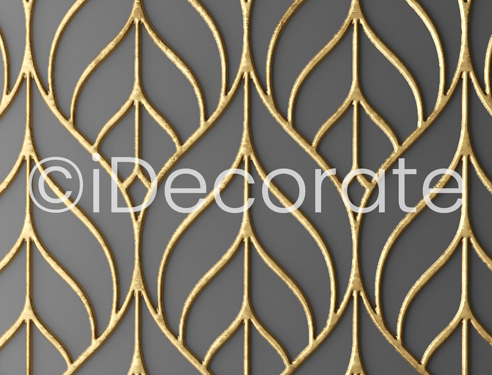 Modern Latticed Wallpaper