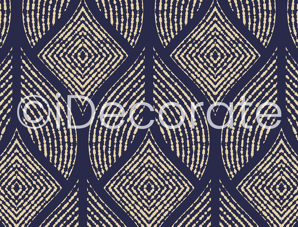 Dark Blue And Golden Wallpaper