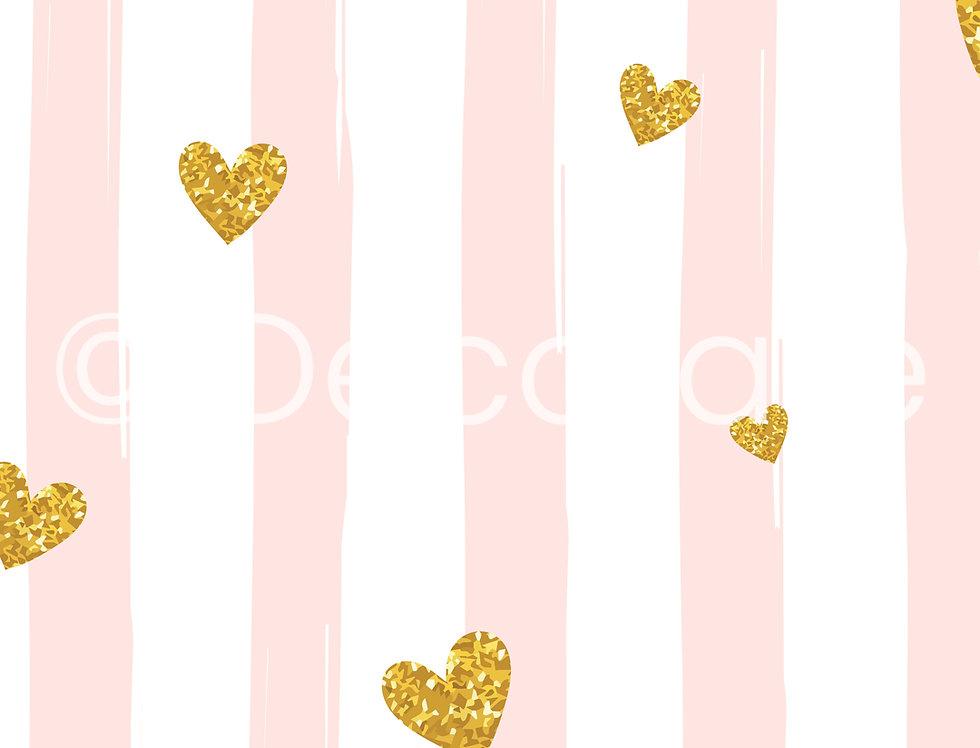 Heart Confetti Wallpaper