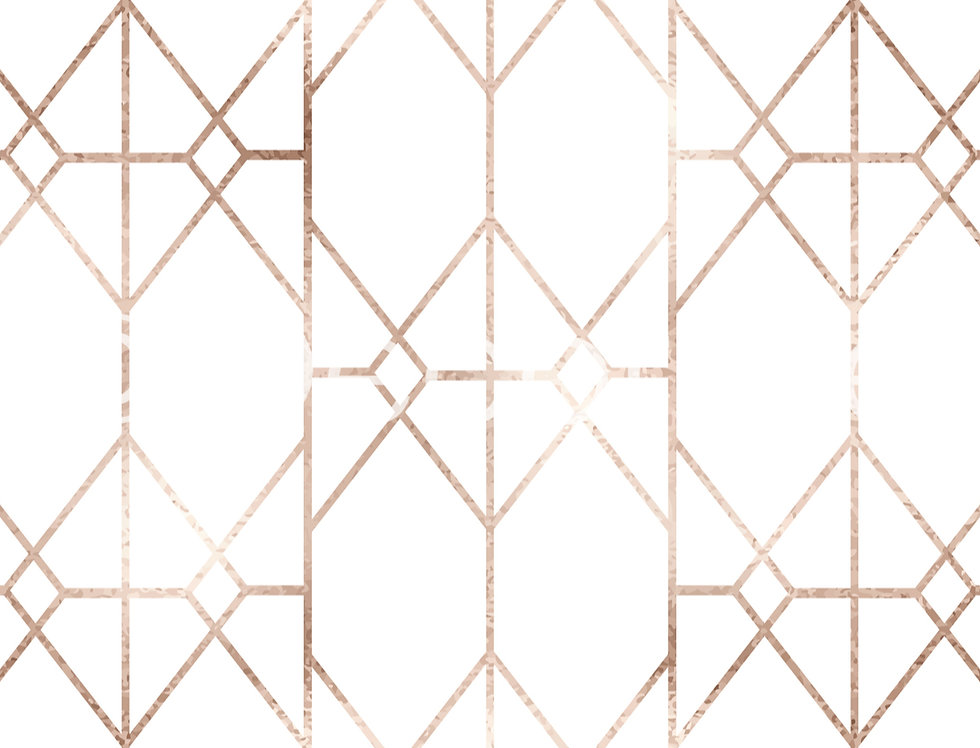 Rose Gold Geometric Wallpaper