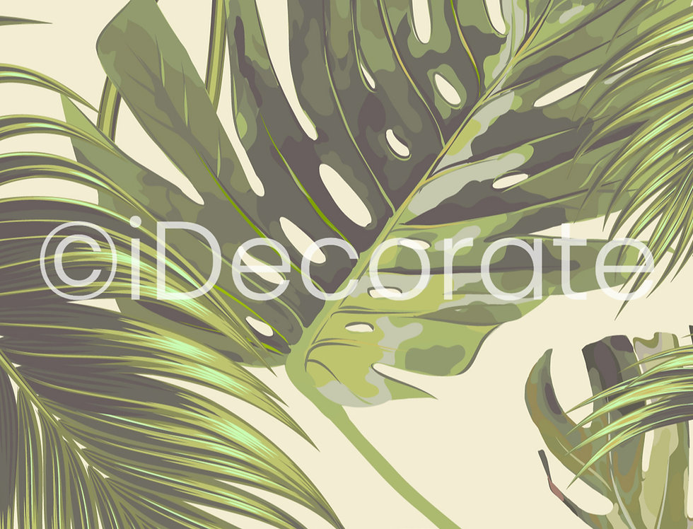 Jungle Leaf Wallpaper