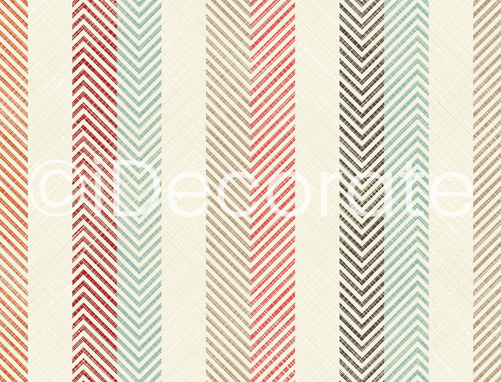 Linoleum Striped Wallpaper