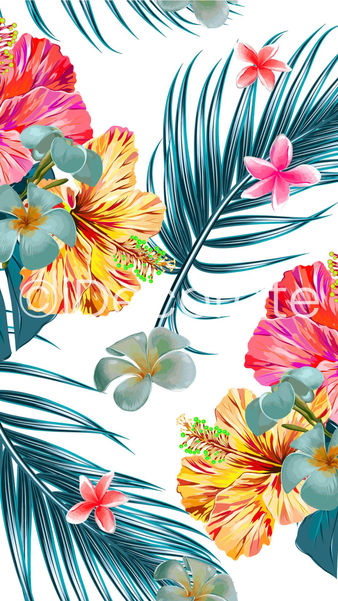 Tropical Hawaiian Wallpaper Idecorate Hawaiian background stock vectors, clipart and illustrations. tropical hawaiian wallpaper
