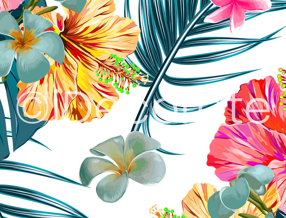 Tropical Hawaiian Wallpaper