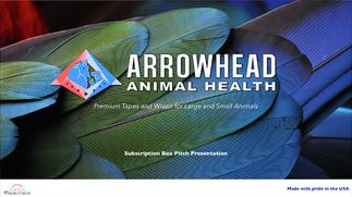 Arrowhead Animal Health - Presentation Design