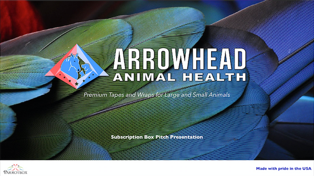 Arrowhead Animal Health - Presentation Design