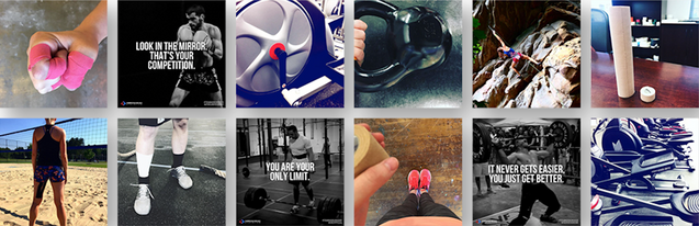 Arrowhead Athletics - Instagram Feed Composition