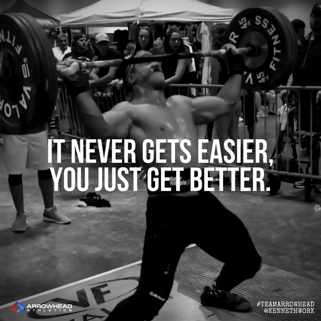 Arrowhead Athletics - Social Media Inspiration Quote