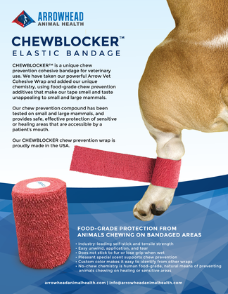 Arrowhead Animal Health - Product Sheet