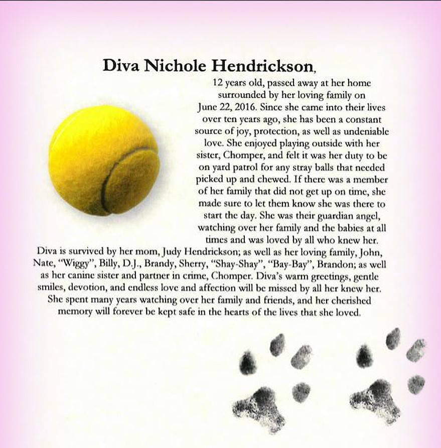 Diva Nichole Hendrickson