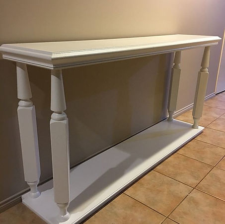 #console #consoletable #table #whitecons