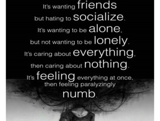 I was lost for words for so many years. This helps to explain some aspects of mental health conditio