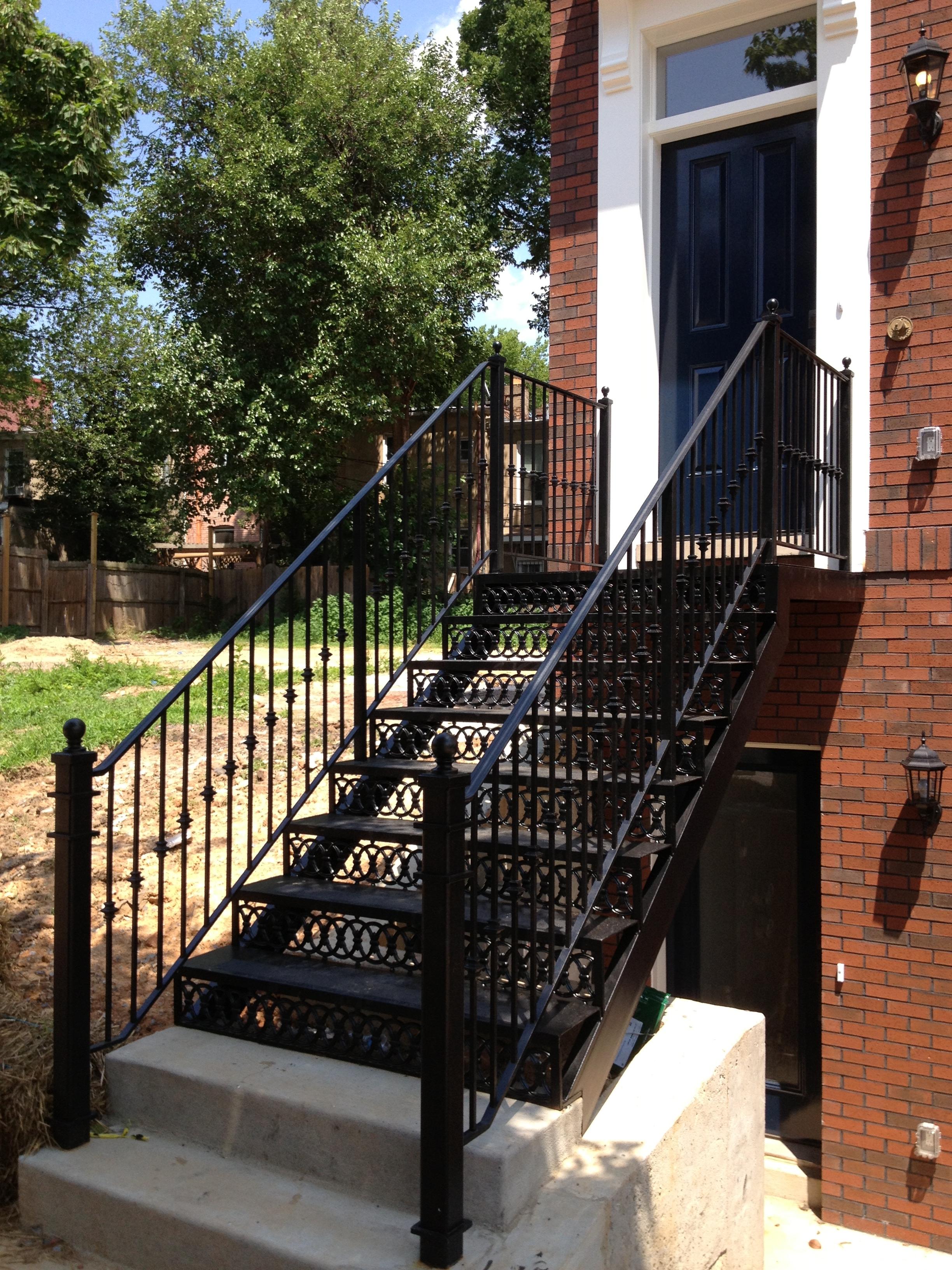 Historic style stair.JPG