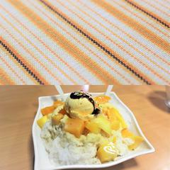 ≪マンゴーかき氷≫