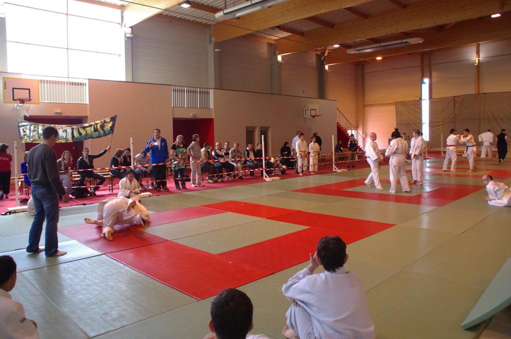Premier open de judo