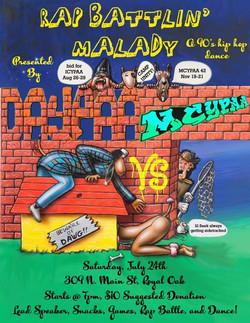 Rap Battlin' Malady 7.24