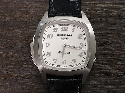 Shellamn SIDE SLIDE Minute Repeater SV925ケース プラチナプレーテッド